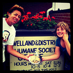 Gave #cookielove to Volunteer Dog Walkers at the Welland Humane Society. http://bit.ly/cookielove