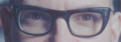 Cory Doctorow&#039;s eyes cc licensed ( BY NC SA ) by Jonathan Worth