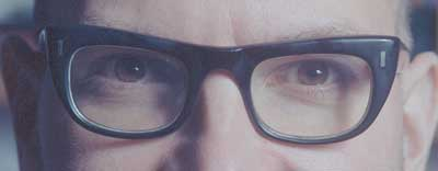 Cory Doctorow's eyes cc licensed ( BY NC SA ) by Jonathan Worth