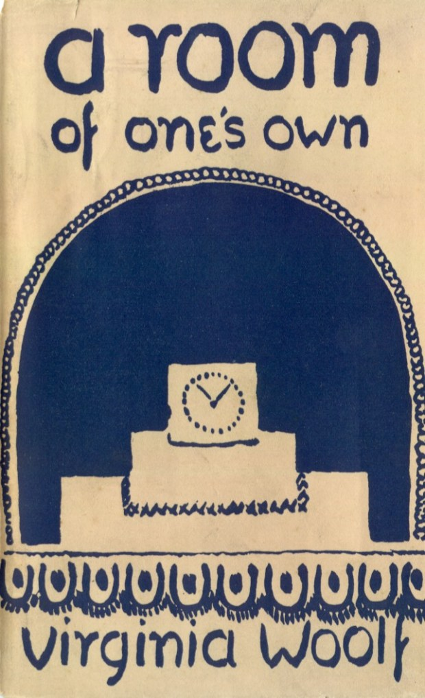 original book cover by Vanessa Bell of Virginia Woolf's essay